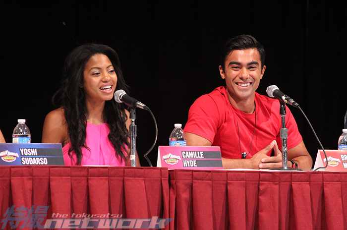 Camille Hyde and Brennan Mejia