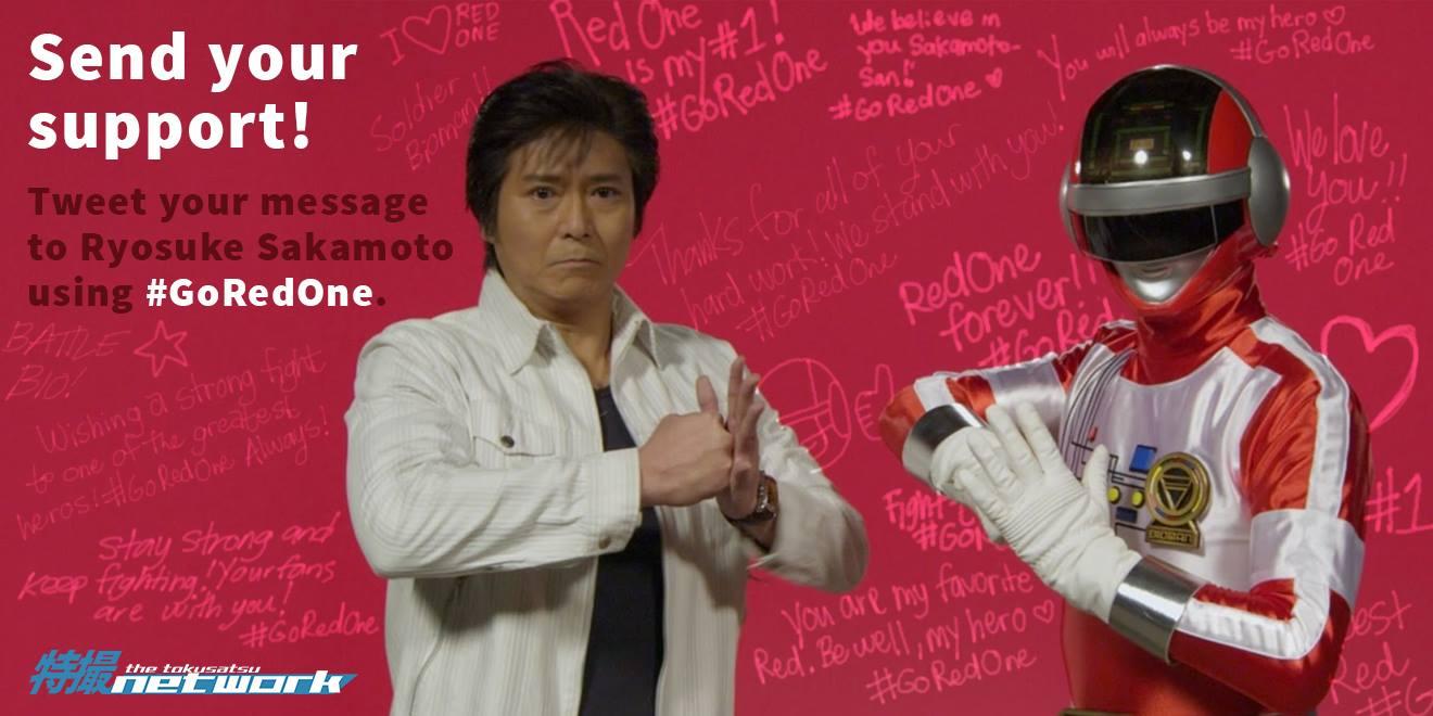 #GoRedOne: International Fans Share Their Support for Bioman's Ryosuke Sakamoto