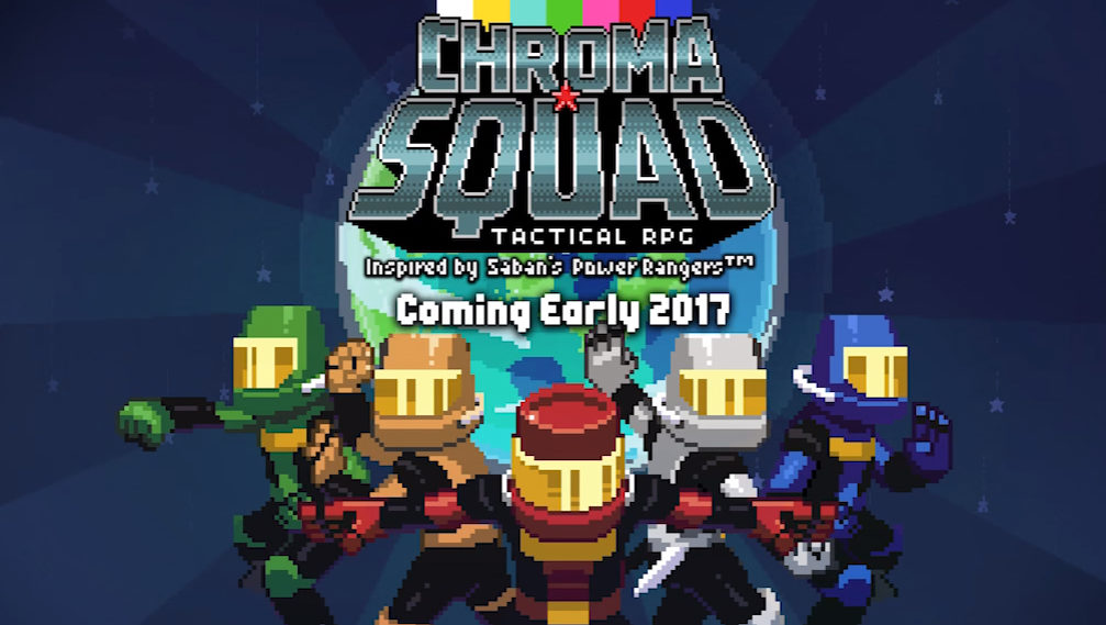 Chroma Squad Announced for PS4, XB1, and PS Vita