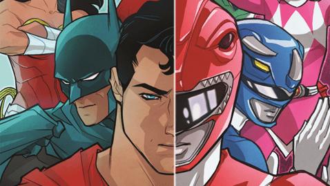 Power Rangers/Justice League Comic Announced
