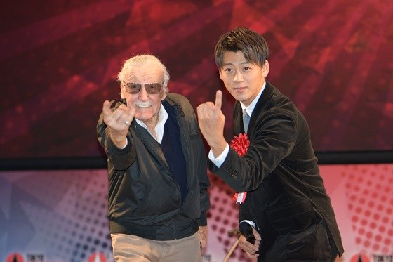 Kamen Rider Drive Meets Stan Lee