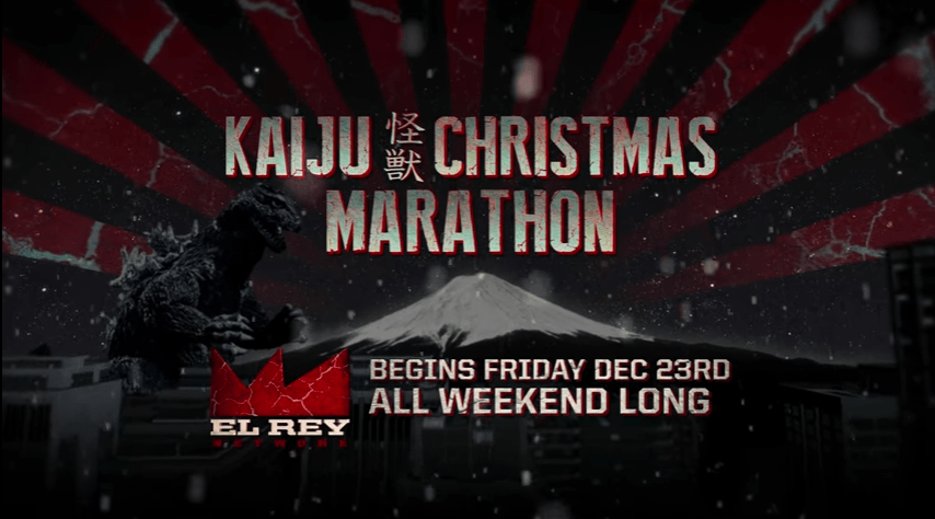 El Rey Network to Host Third Kaiju Christmas Marathon