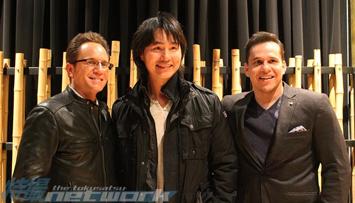 David Yost, Robin Shou, and Steve Cardenas.