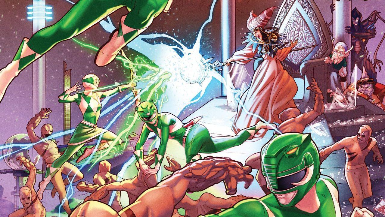 Comics Corner: Mighty Morphin Power Rangers #13