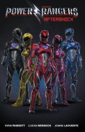 Saban's Power Rangers - Aftershock_A_Main Cover