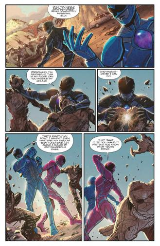 Saban's Power Rangers - Aftershock_Preview_5