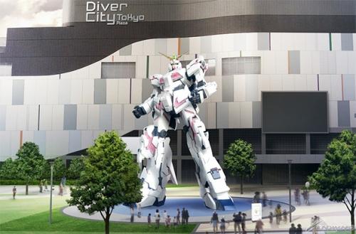 Life-Sized Unicorn Gundam Statue Coming to Japan