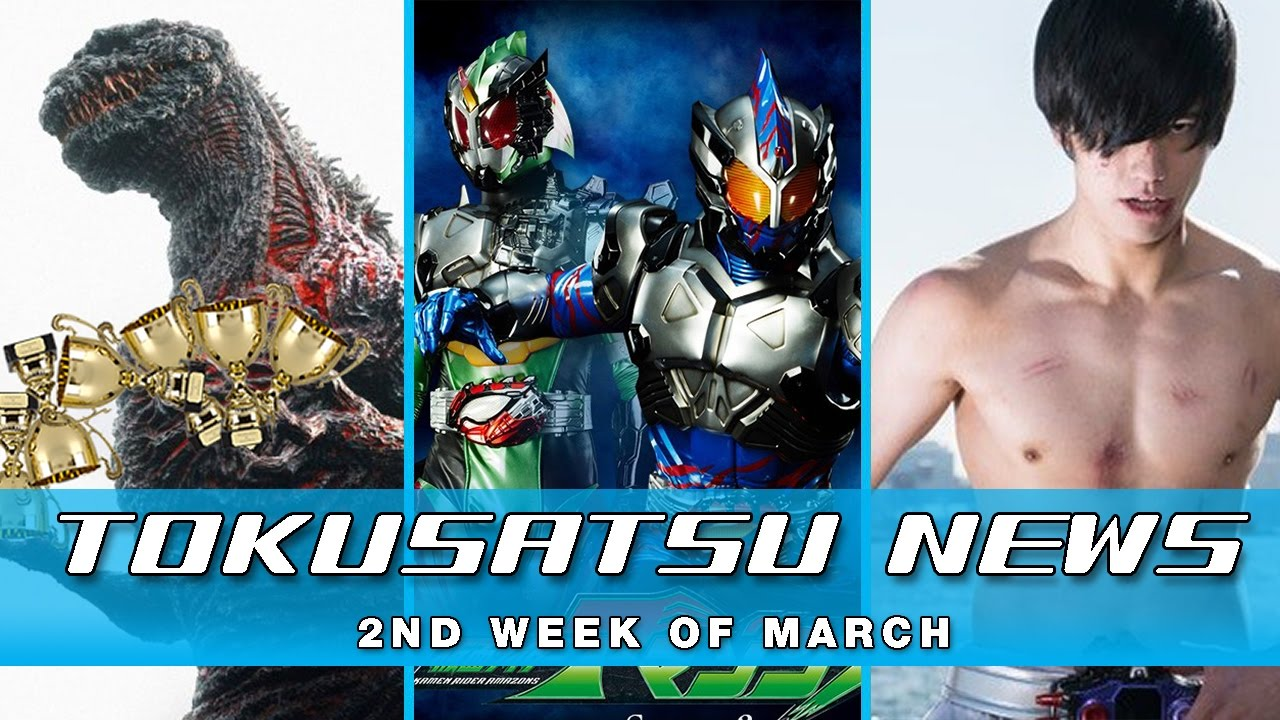 Amazons Season 2 + Ultraman Zeed + Shin Godzilla Awards – The Tokusatsu Network Weekly News Roundup
