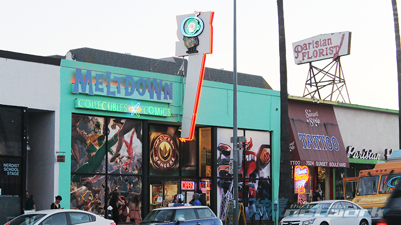 "Meltdown Comics in Los Angeles Hosts Power Rangers ""Morphinomenal Art Show"""