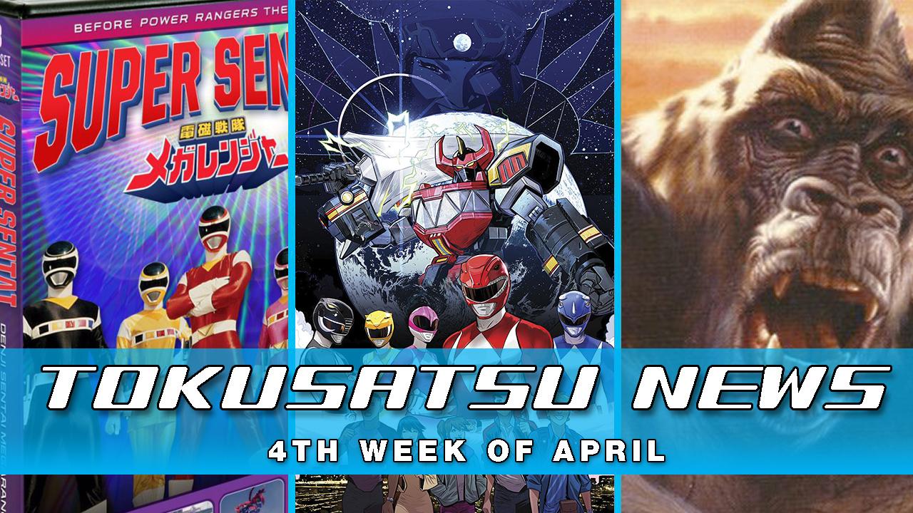 Kong Series? + New Power Rangers Comic + Kaiju Workshop – The Tokusatsu Network Weekly News Roundup