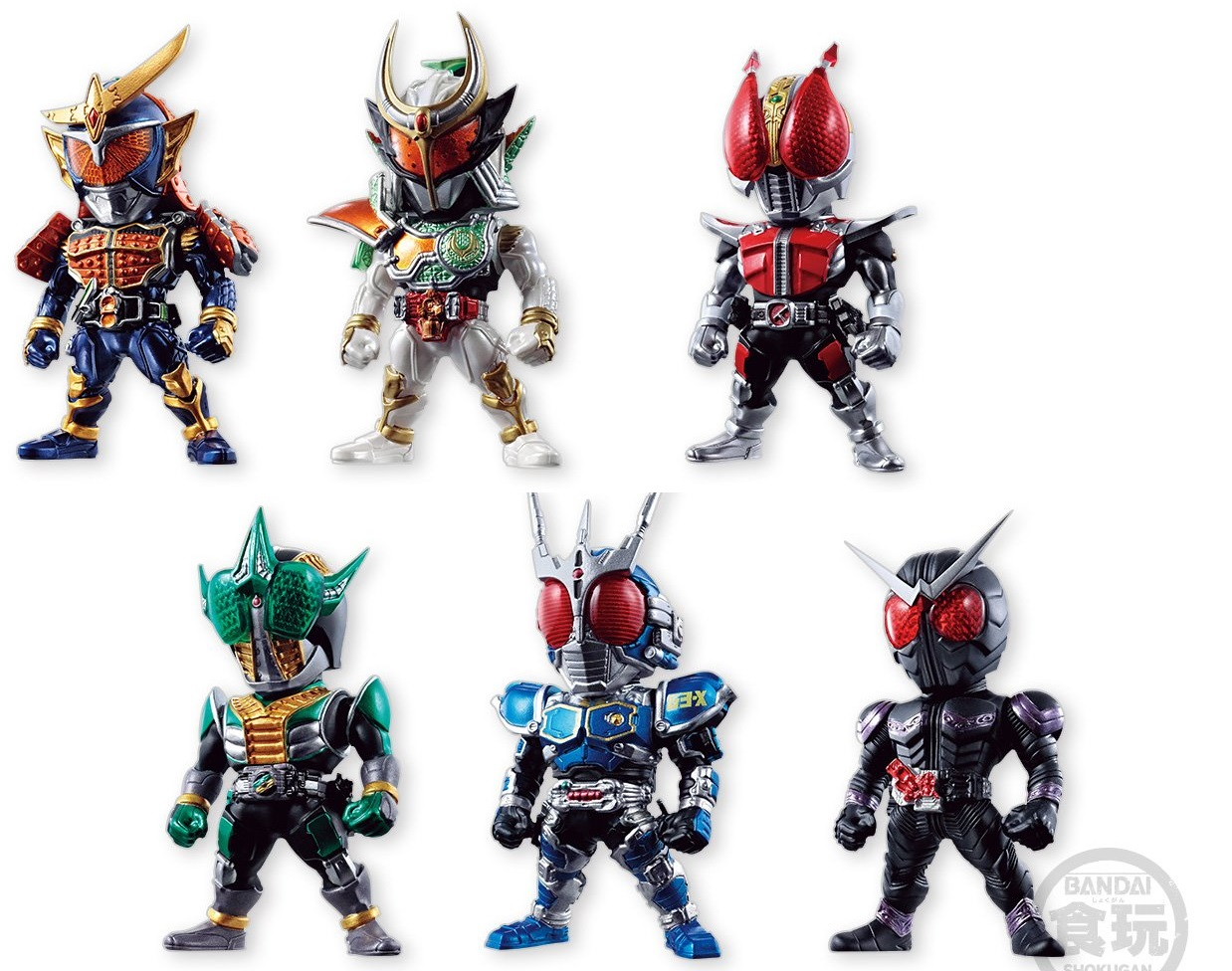 Converge Kamen Rider 6 Set Announced