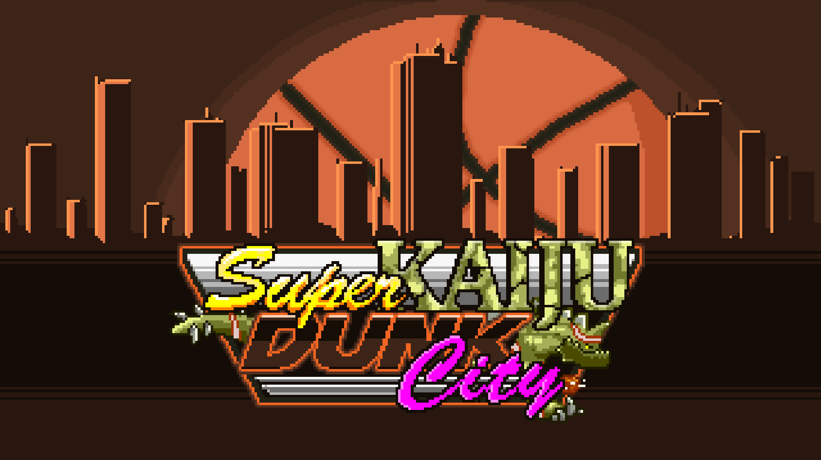 Super Kaiju Dunk City Details