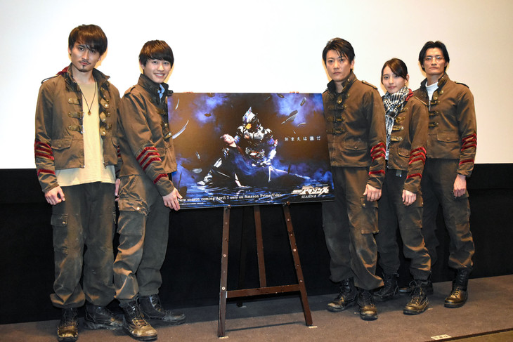 Cast of Kamen Rider Amazons Interviewed at Season 2 Premiere Event