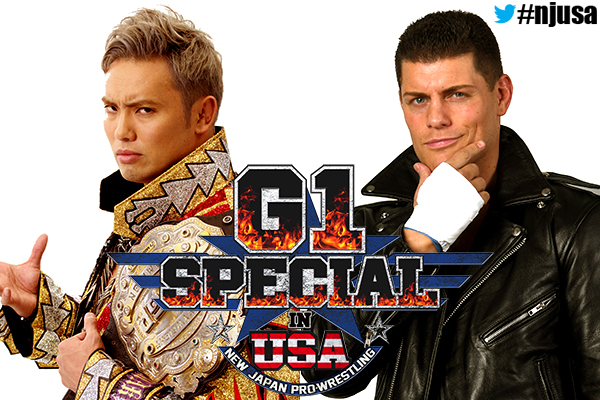 NEW JAPAN PRO WRESTLING G1 SPECIAL in USA: Night 1 Results
