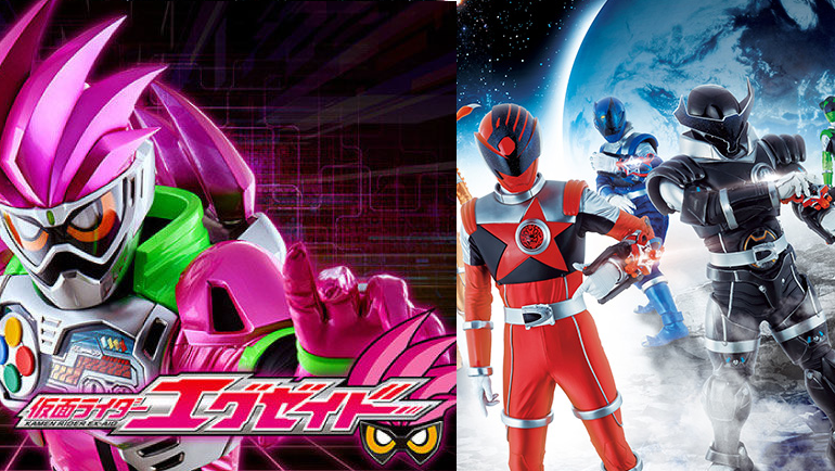 Super Sentai and Kamen Rider Move to New Time in October