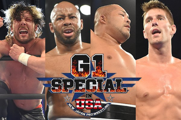 NEW JAPAN PRO WRESTLING G1 SPECIAL in USA: Night 2 Results