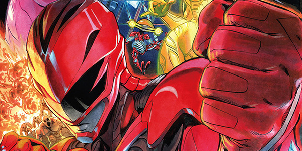 One-Punch Man Manga Artist Illustrates Power Rangers Movie Visual in Japan