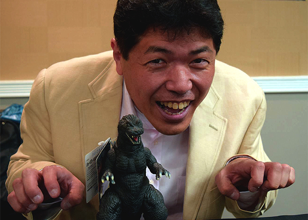 Godzilla Suit Actor Mizuho Yoshida To Appear at Grand Rapids Comic-Con