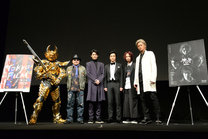 """GARO: Kami no Kiba"" World Premiere Report"