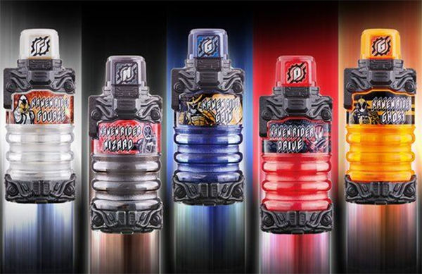 Premium Bandai Reveals Kamen Rider Build DX Legend Rider Full Bottle Set