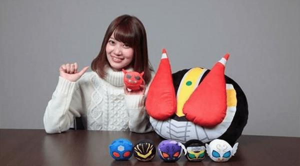 Kamen Rider Den-O Head and Wrist Cushions Released by Premium Bandai