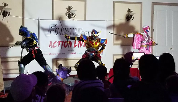 Live Fujiyama Ichiban Stage Performance Held in Torrance, California