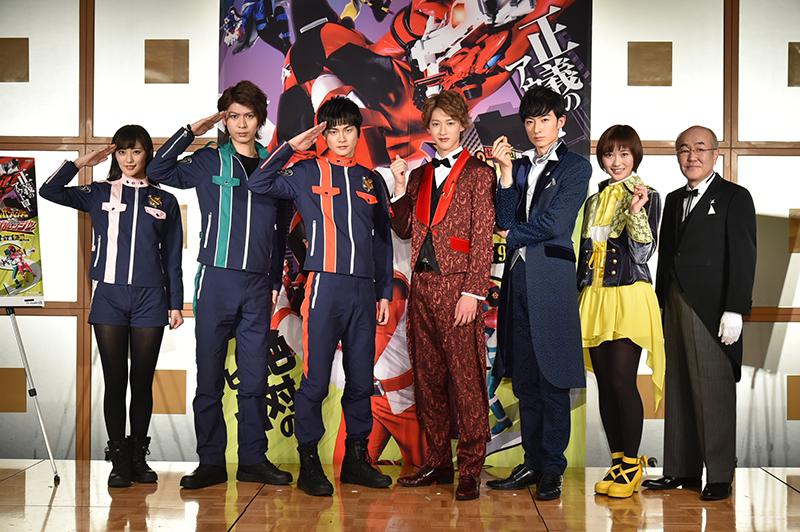 Kaitou Sentai Lupinranger vs Keisatsu Sentai Patoranger Interview Report