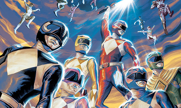 Power Rangers 25th Anniversary Comic Special Announced