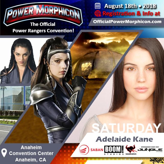 Power Morphicon 2018 Adds Adelaide Kane