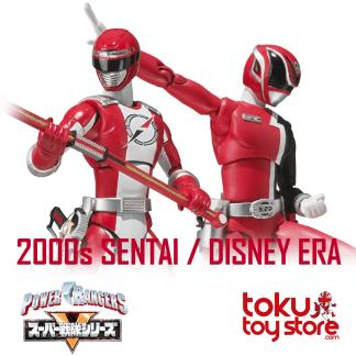 2000s Sentai / Disney Era (2001-2009)