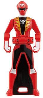 Gokai Red Key