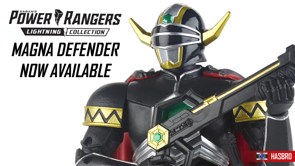 The Magna Defender, as well as a number of other Lightning Collection action figures, is now available for purchase.