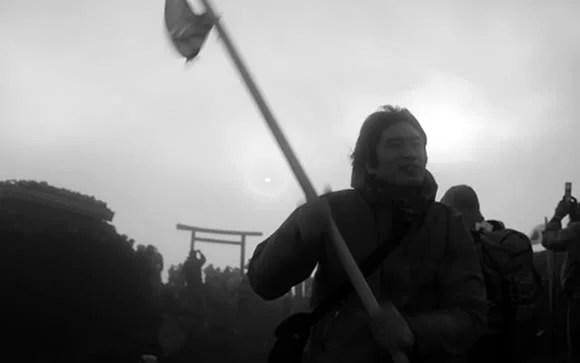 管理人、富士山登頂の画像