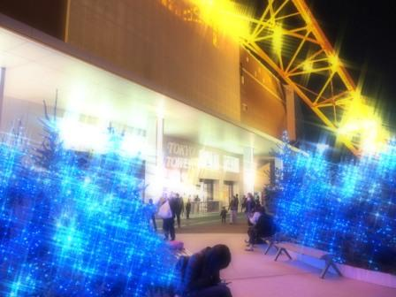 Tokyo Tower Winter Lights & the Entrance