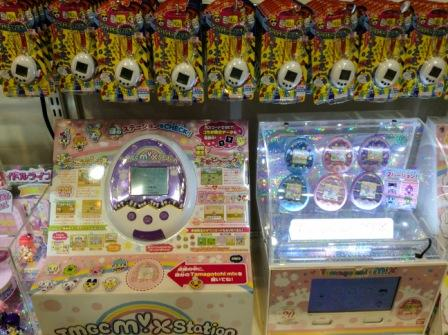 tamagotchi mix and chibi mini at Kiddy Land Harajuku, Tokyo, Japan