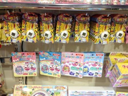 Tamagotchi m!x Dream mix version in Kiddy Land Harajuku, Tokyo, Japan