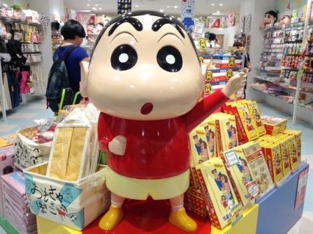 crayon shin chan shop tokyo character street