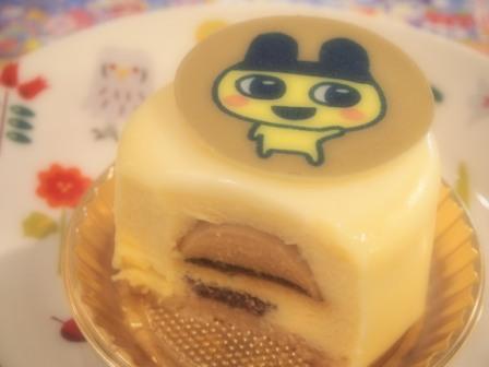 Mametchi cake at kotori cafe, tokyo, japan, 2017