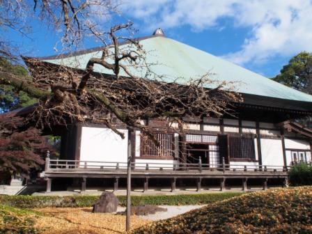 Joshinji Temple main hall