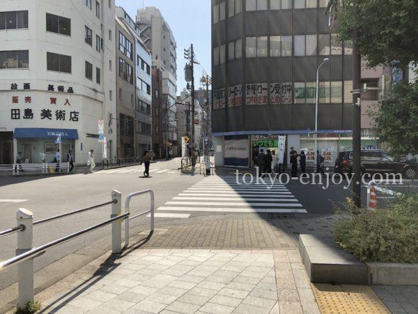 上野広小路駅前