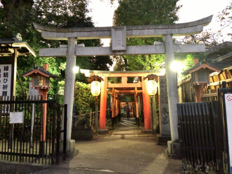 上野 五條天神社