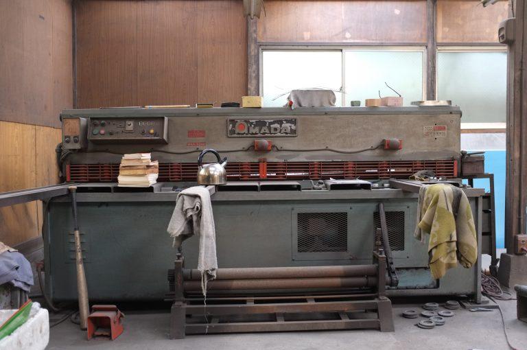 小川製作所のプレス機