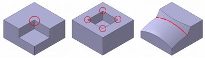 切削加工のできないピン角の例