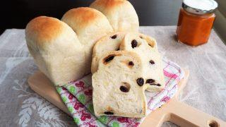 12月は「レーズンパン」&「カボチャと柚子のジャム」