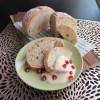 12月のパンはホットカスタードソースをかけて☆