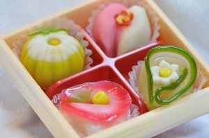 wagashi sweets and desserts