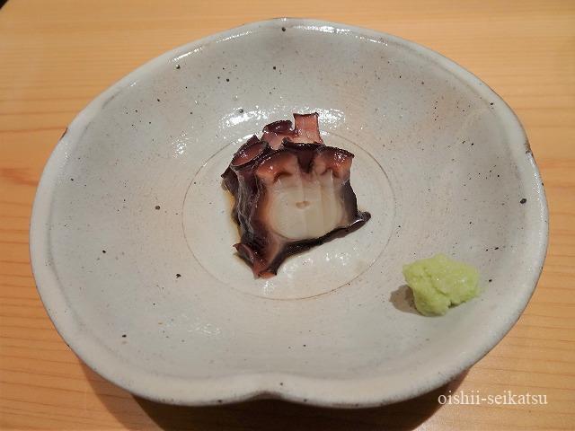 鮨つぼみ煮たこ
