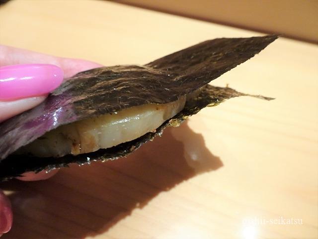 鮨つぼみ平貝