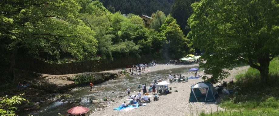 秋川渓谷 Otsu Nature Garden 奥多摩に近い宿 乙津ネイチャーガーデン