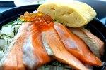 ガイアの夜明けで紹介の銀鮭の王様 銀王の丼@ヤフー社食